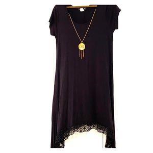 French atmosphere black dress size 1X